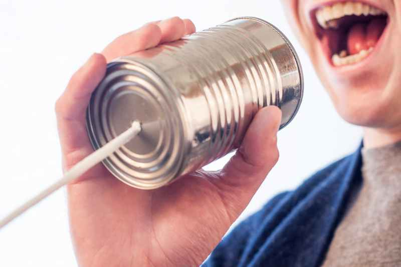 marketing man person communication