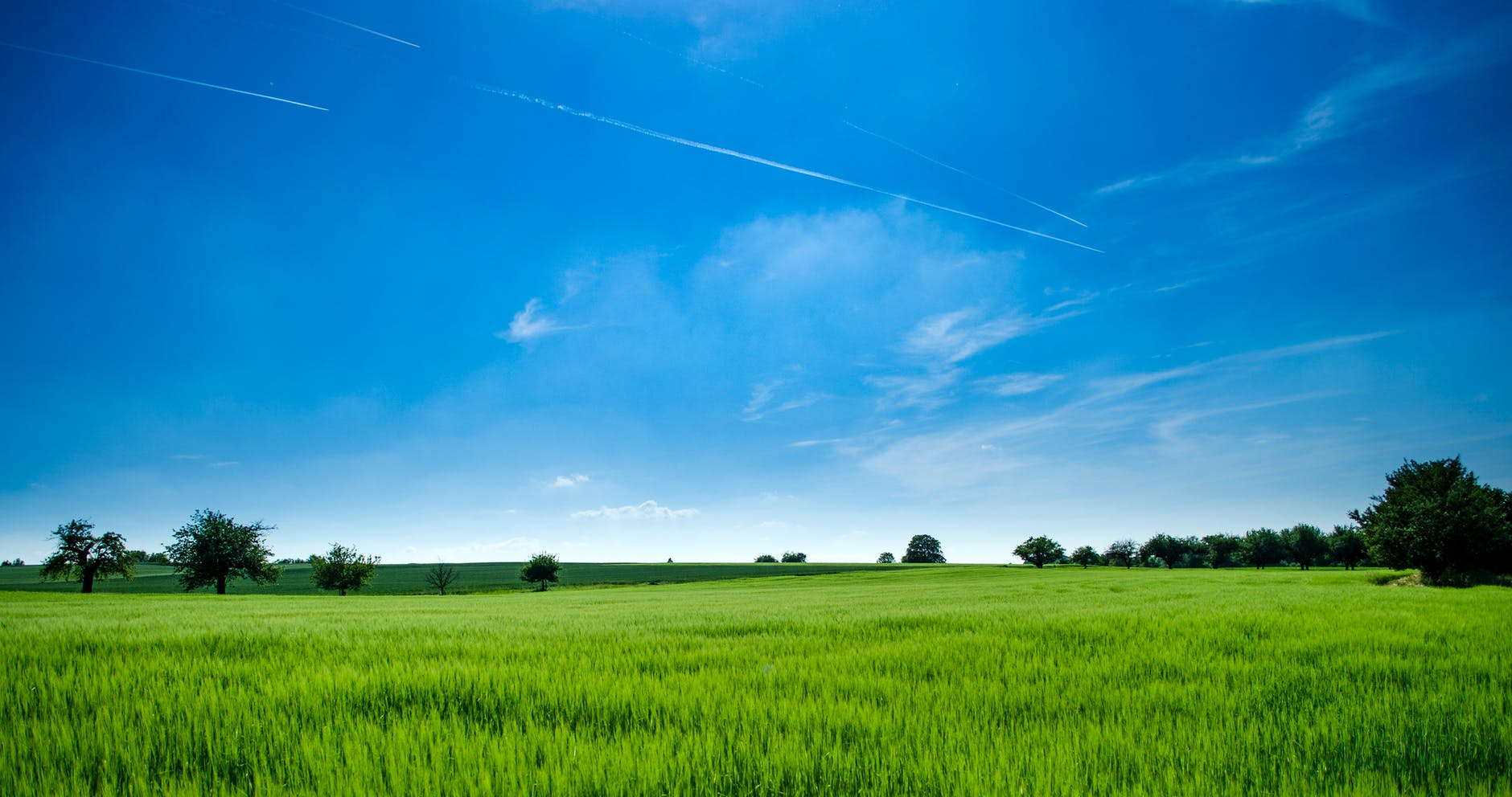 agriculture clouds countryside cropland